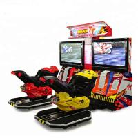 Wholesale Video Adult Arcade Racing Car Game Machine 42'' LCD TT Motor Simulator from china suppliers