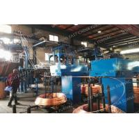 Buy cheap Annnual 5000MT D8-15mm Copper Rod Upcasting Process Oxygen Free Continuous Casting Machine from wholesalers