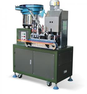 Best Automated Electric 2 Pin Plug Crimping Machine / Inserting Machine wholesale