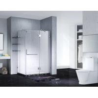 China Slimline Frameless Rectangle Shower Enclosure With Pivot Door, AB 1242-1 on sale
