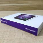 China Microsoft 32 / 64 Bit Windows 10 Pro Retail Box KEY Code COA Sticker License for sale