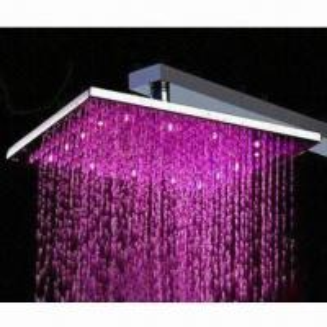 China LED shower head, shower head, top shower head; round shower head on sale