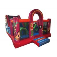 China Best sell inflatable combo China pirate themed inflatable combo inflatable bouncer plus slide for commecial for sale