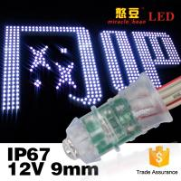 Buy cheap Led Exposed Light Inventor Waterproof IP67 F5 0.12W Single Color DC12V Led Pixel from wholesalers