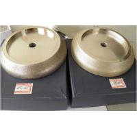 Wholesale 127mm Electroplated CBN Grinding Wheel, Grit:#100/120 or #140/60 for Grinding Band Saw from china suppliers