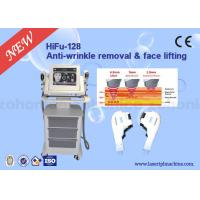 10.4 Colour Touch Screen 3D HIFU Machine 4Mhz / 7Mhz Energy For Shaping V Face for sale