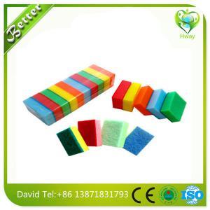 Wholesale colorful sponge pad,sponge scouring pad,sponge scourer/Good quality sponge scourer from china suppliers