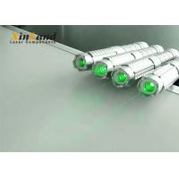 China Teaching 520nm Green Laser Pointer /  Strong Laser Pointer Silver Switch on sale