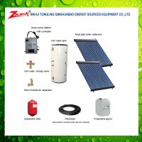 split high pressured solar water heater with ce srcc iso9001 keymark for sale