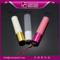 Wholesale DH-5ml empty travel bottle plastic roller bottle bottle with hook from china suppliers