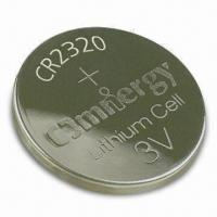 Wholesale Lithium/Manganese Dioxide Button-cell Battery with 130mAh Nominal Capacity and 15mA Pulse Current from china suppliers