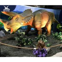 Wholesale Water Resistant 4 Meters Large Realistic Dinosaur Models For Museum / Square from china suppliers