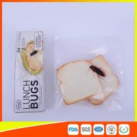 Wholesale Ziplock Airtight Plastic Sandwich Bags Transparent Eco Friendly Custom Printed from china suppliers