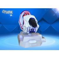 China Single-player VR Racing Car Red Virtual Reality 9D 3DOF VR Motion simulator for sale