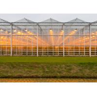 Wholesale High Transmittance Plastic Panels Greenhouse Light Steel Structure Frame from china suppliers
