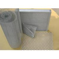 Galvanized Steel Aluminum Expanded Metal / Wire Mesh Fence For Equipment Protection