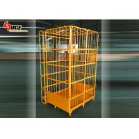 Q235 Steel Foldable Workshop Logistics Trolley 4 Layers Without Caster for sale