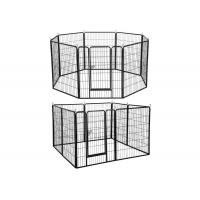 Wholesale Modular Outdoor Metal Dog Kennel Heavy Duty Large Exercise Pet Playpen from china suppliers
