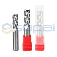 China Solid Carbide Aluminum End Mill Various Coatings 50-150mm Legth on sale