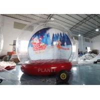Wholesale 4M 5M Inflatable Bouncing Snow Globe Photo Booth With Blower from china suppliers