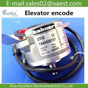 Wholesale OTIS Otis Elevator accessories West Otis gearless machine encoder TAA633K151 from china suppliers