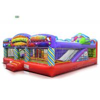 China Fun Fair Park Play Inflatable Bounce House Combo 1 - 3 Years Warranty 120 KG Weight for sale
