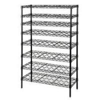 Wholesale Common Commercial Wire Shelving , 8 Tier Freestanding Organizer Holder And Water Bottle Storage Metal Wire Wine Rack from china suppliers
