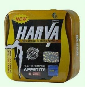 China Natural HARVA Slimming Safe Weight Loss Supplements Fat Burner Detox Herbal Diet Caspules on sale