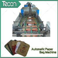 Wholesale Bevel Gear Full Automatic Paper Bag Making Machine with Siemens Screen Control from china suppliers