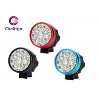Wholesale Black Red Flashing LED Bike Lights 11 Gree LEDs T6 6600 MAh AC 100~240V from china suppliers