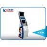 Stand alone sleek cabinet modern card dispenser kiosk in shopping mall for sale
