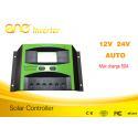 50A PWM solar charge controller 12V/24V/48V solar battery charging controller for sale