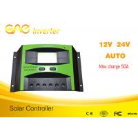 Wholesale 50A PWM solar charge controller 12V/24V/48V solar battery charging controller from china suppliers
