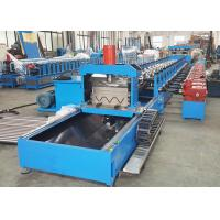 China Thrie Beam Highway Guardrail Roll Forming Machine With Servo Flying Cutoff for sale