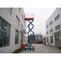 Wholesale Loading 300Kg And 3 Meters Platform Hydraulic Mobile Scissor Lift with  Optional Extension from china suppliers