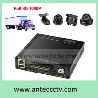 Wholesale Best Car Truck DVR HD 1080P, WIFI HDD Mobile Vehicle DVR 4 channel CCTV Video surveillance system from china suppliers