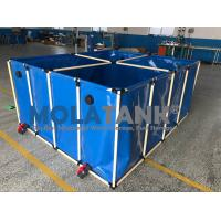 1000L flexible    Fish farming tank in door and out door using water storage tank for sale