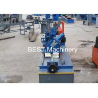China PLC Control Stud Manufacturing Machine For Main Channel Furring Channel on sale