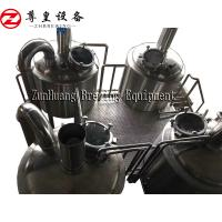 China SS304 1500L Commercial Beer Brewing Equipment Pickling Passivation Inner Surface for sale