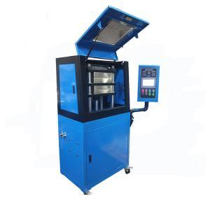 Wholesale Laboratory Hydraulic Rubber Press Vulcanizing Tester , Lab Hot Press Machine from china suppliers
