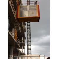 China 3 Doors Material Hoist Construction , SC200/200 Material Lift Elevator on sale