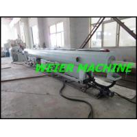Best 55kw drive motor conical double screw extruder machine for PVC pipe wholesale