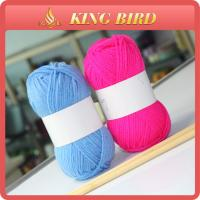 Wholesale 40 grams ball DIY crochet 100% acrylic yarn for knitting 8S / 4 in blue from china suppliers