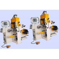 China Automatic Coil Winding Machine Copper Or Aluminium Strip Winder Cold Welding for sale
