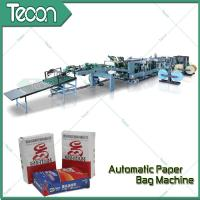 Wholesale High Speed Paper Bag Bottomer Machine With Inner Outer Strength Sheet from china suppliers