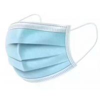 Wholesale Blue Green Non Woven Fabric Face Mask , 3 Ply Surgical Face Mask from china suppliers