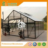Wholesale Aluminum Greenhouse-Titan series-406X506X302CM-Green/Black Color-10mm thick PC from china suppliers