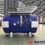 China Horizontal Generator Set Waste Heat Boiler / Whrb Boiler 1T - 3T Capacity for sale