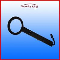 Wholesale Rechargable Portable Metal Detector , Red / Green LED Indicator Handheld Scanner Wand from china suppliers