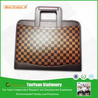 China Classical designed mens genuine leather briefcase on sale